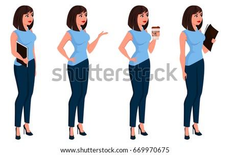 business woman in office dress