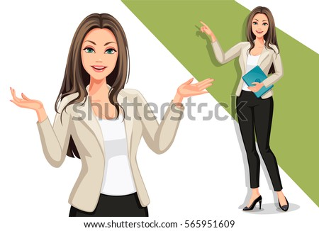 business women in presentation