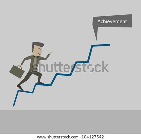 Businessman Achievement