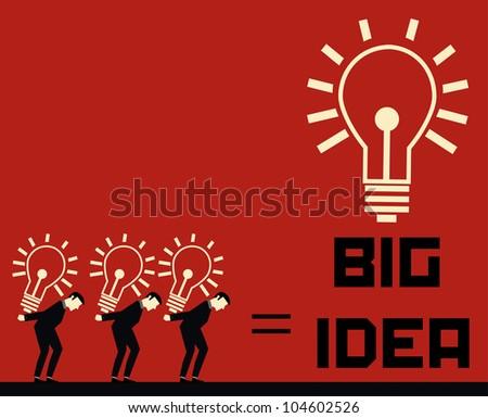 Businessman Big Idea
