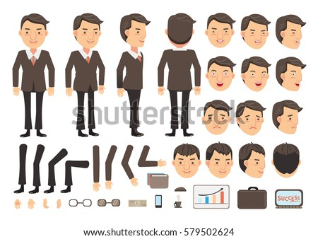businessman character creation