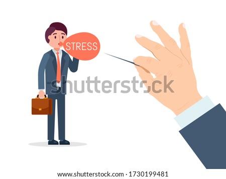 businessman character under