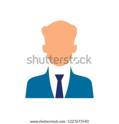 Businessman character. vector gestures character vector design.