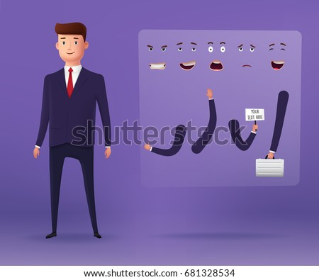 businessman characters for