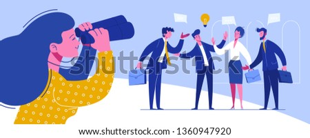 Businessman Conference Workplace Negotiations. Meeting Trade Solidarity Organization. Relationship World Investment Perspective. Difficult Global Partnership Flat Cartoon Vector Illustration
