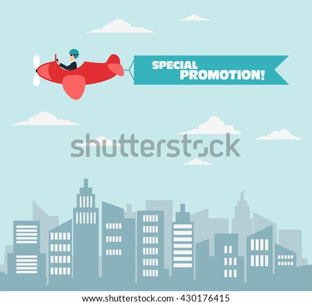 businessman flying on airplane