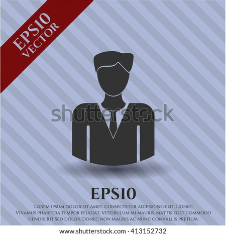 Businessman high quality icon