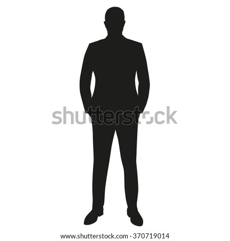 businessman in suit  isolated