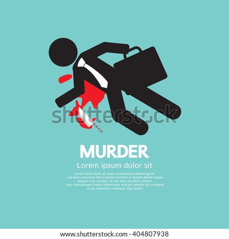 businessman is dead by murder