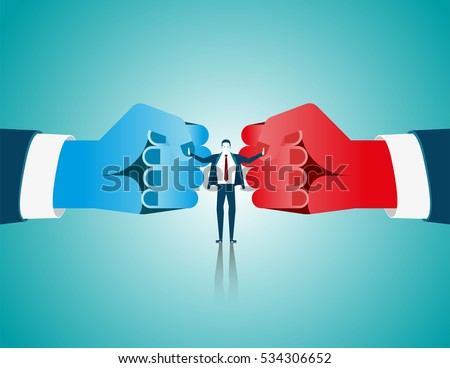businessman mediate with lawyer