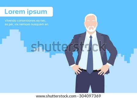 businessman senior boss