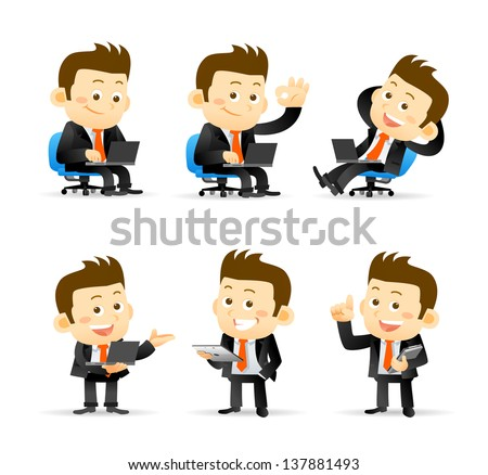 Businessman set