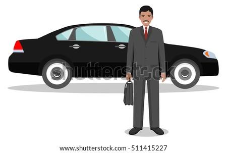 businessman standing near the