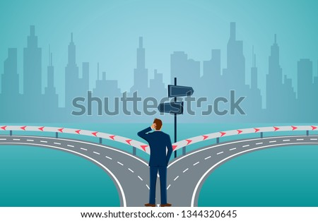 businessman standing on the