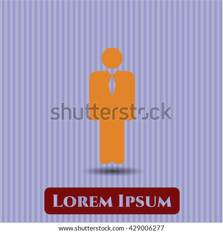 Businessman symbol