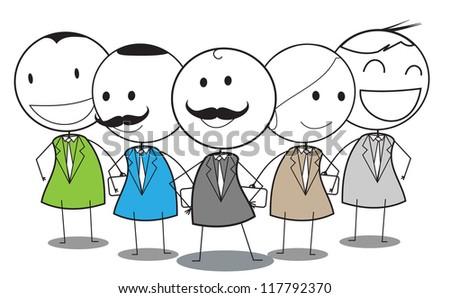 businessman team