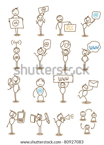 businessman technology communication concept