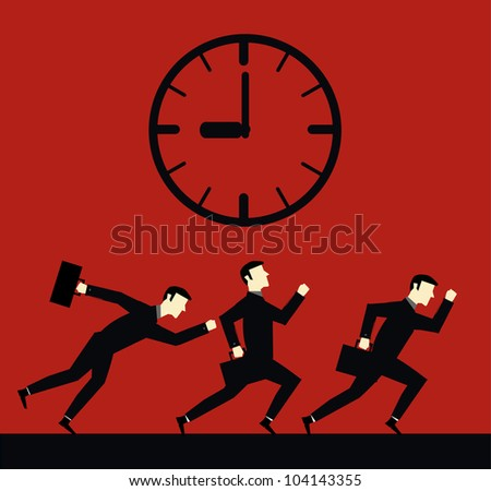 Businessman Time DeadLine