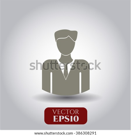 Businessman vector icon
