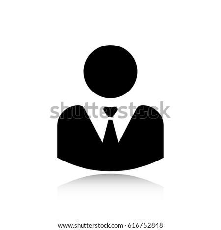 businessman vector icon