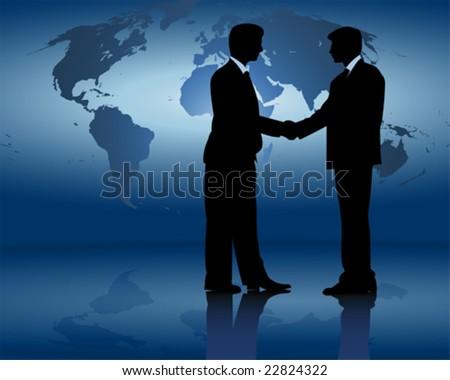 Businessmen - stock vector