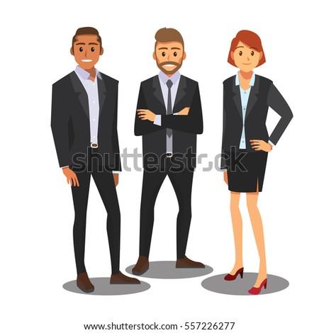 businessmen consulting