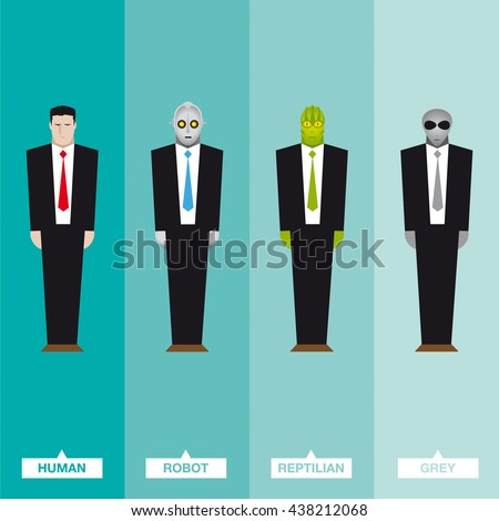 businessmen from outer space