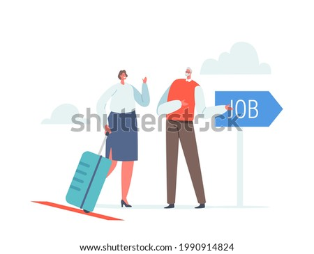 businesswoman character with
