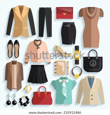 businesswoman clothes