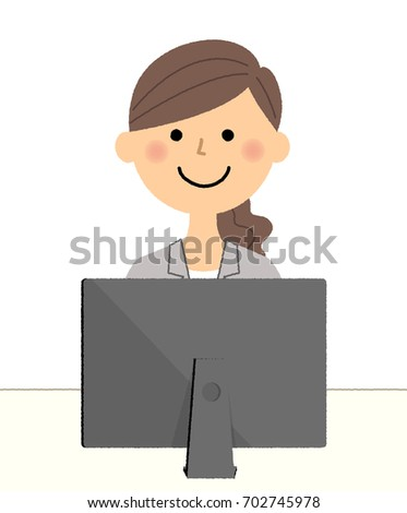 Businesswoman,PC