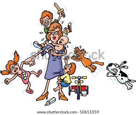 http://image.shutterstock.com/display_pic_with_logo/576460/576460,1270958936,5/stock-vector-busy-mum-50651059.jpg