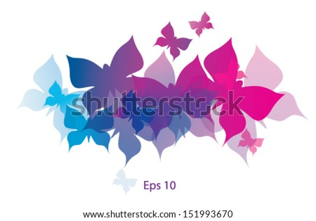 Butterflies decorative
