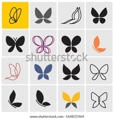 butterflies icons
