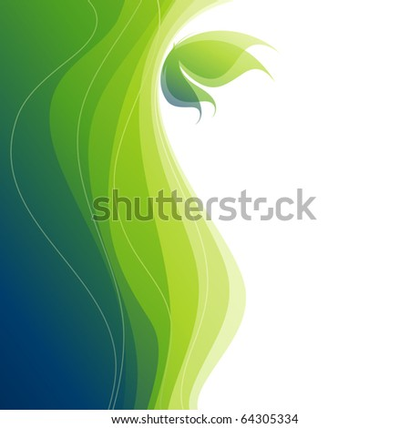 Stock Photo Butterfly. Colorful vector background. (eps8)