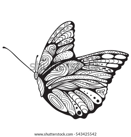 butterfly coloring book for