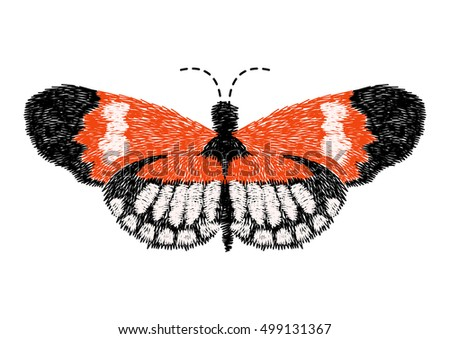 butterfly design for clothing