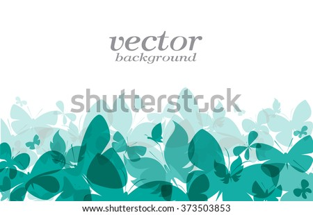 butterfly design on white