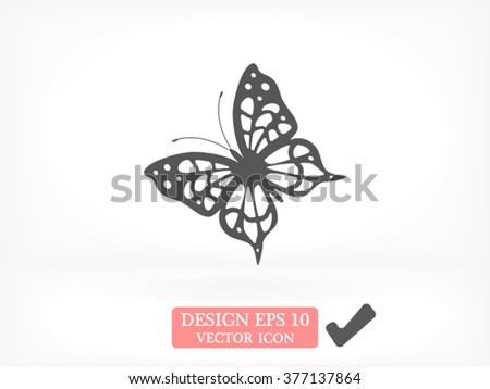 butterfly icon  butterfly icon