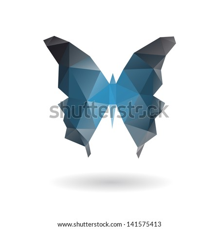 Butterfly isolated on a white backgrounds