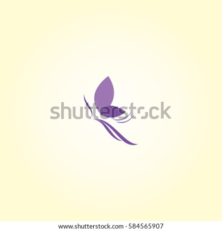 butterfly logo beauty