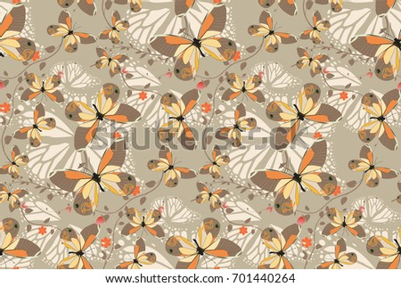 butterfly patterns seamless