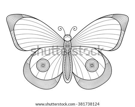 butterfly vintage decorative