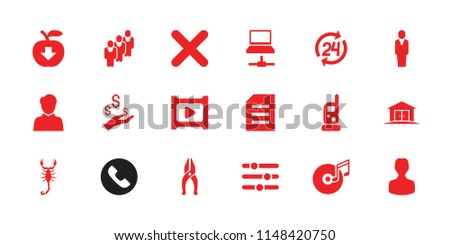 button icon collection of 18