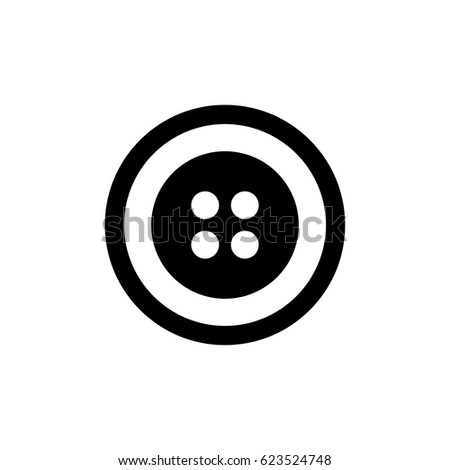 Button  icon illustration isolated vector sign symbol
