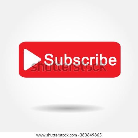 Button Subscribe Icon Vector,JPG,JPEG,design