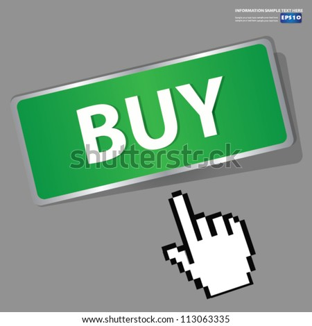 Buy button sign,Vector