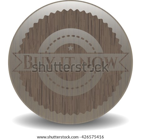 Buy it Now wooden emblem