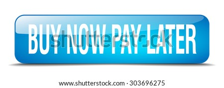 buy now pay later blue square