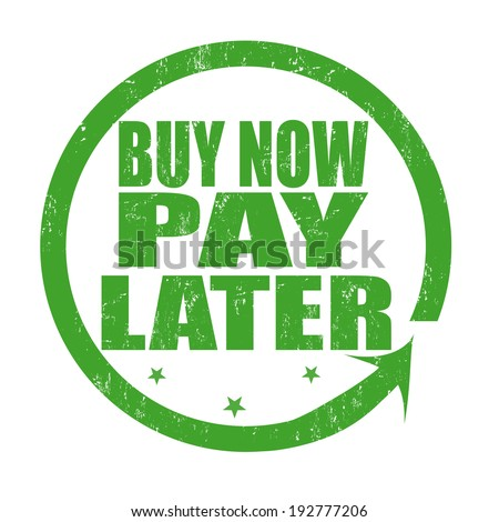 buy now pay later grunge rubber