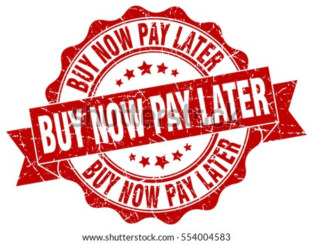 buy now pay later stamp